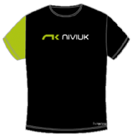 NiviUK  T-Shirt Original Black / Green - Womens